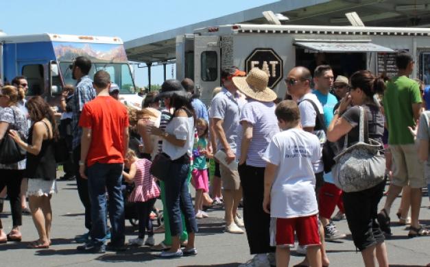 Monmouth Park Food trucks